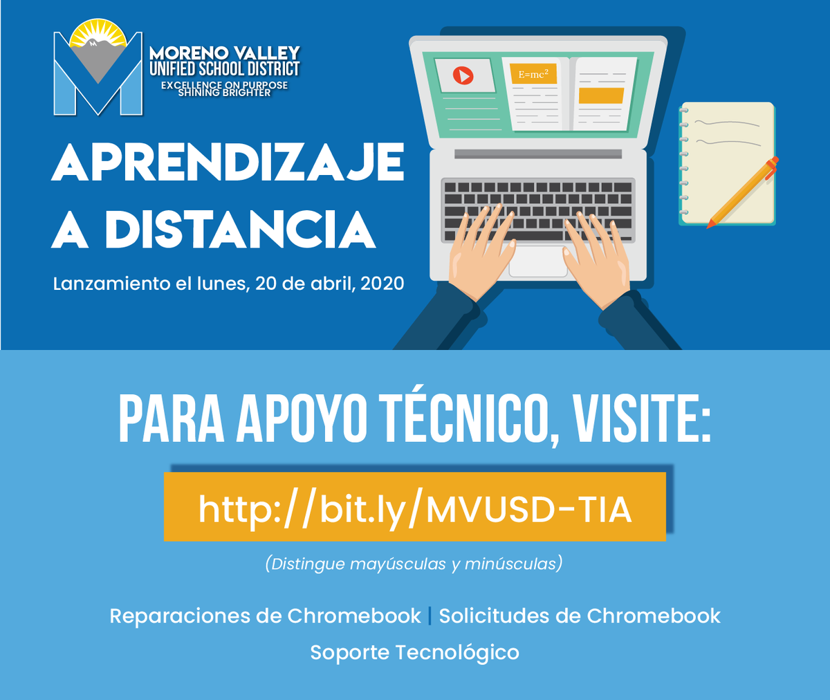 MVUSD Tech Support Spanish