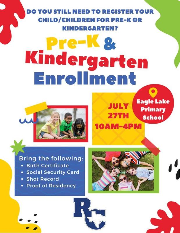 Pre-K and Kinder Enrollment Featured Photo
