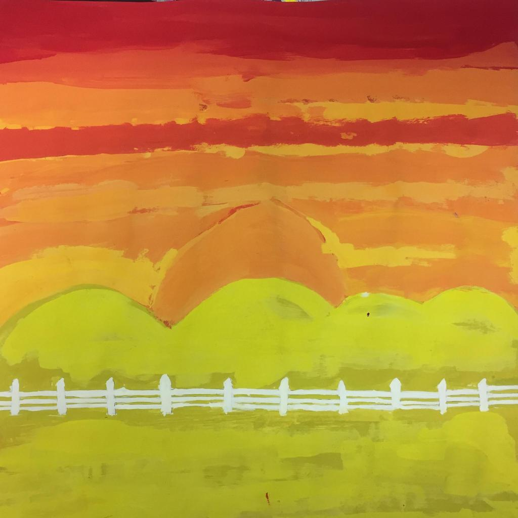 Painting 7th grade