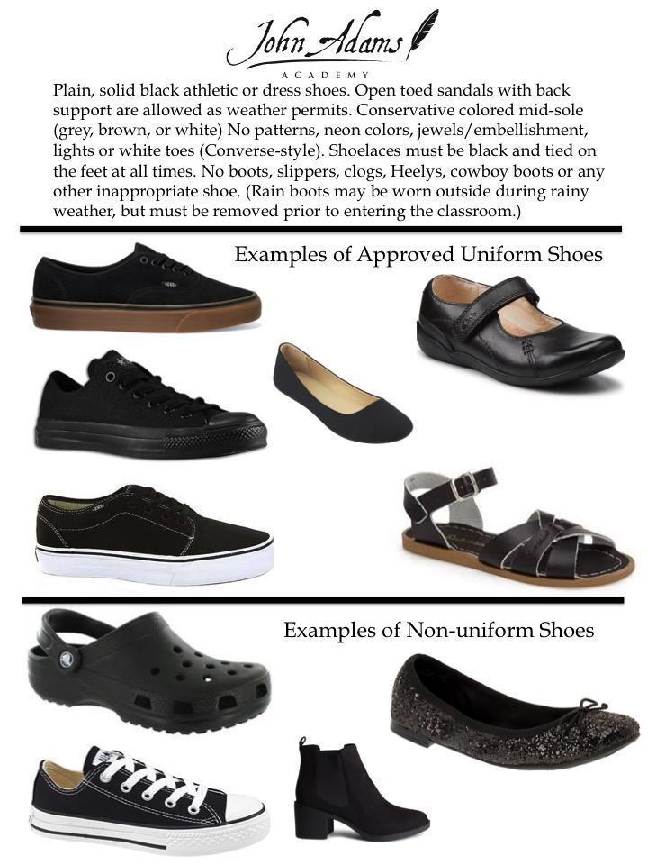 Dress Code: Shoes – Uniform Store