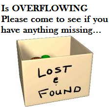 Lost & Found is OVERFLOWING Featured Photo