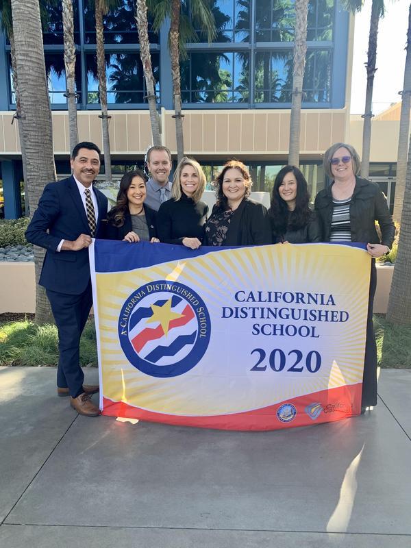 Meadows CA Distinguished School 1