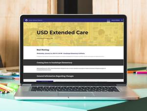USD Extended care Logo