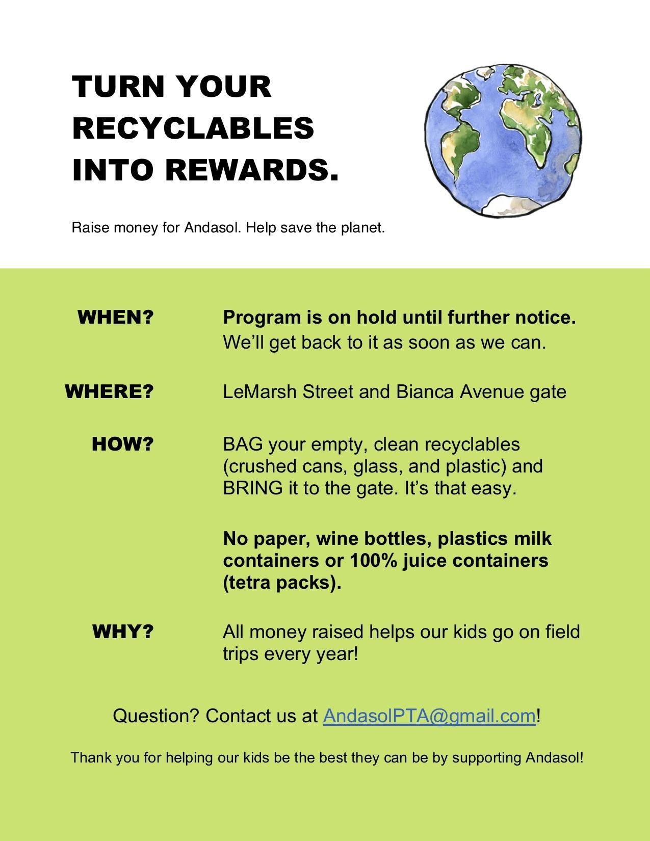 2020-21 Recycling Flyer