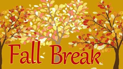 Enjoy your break and come back ready to work!