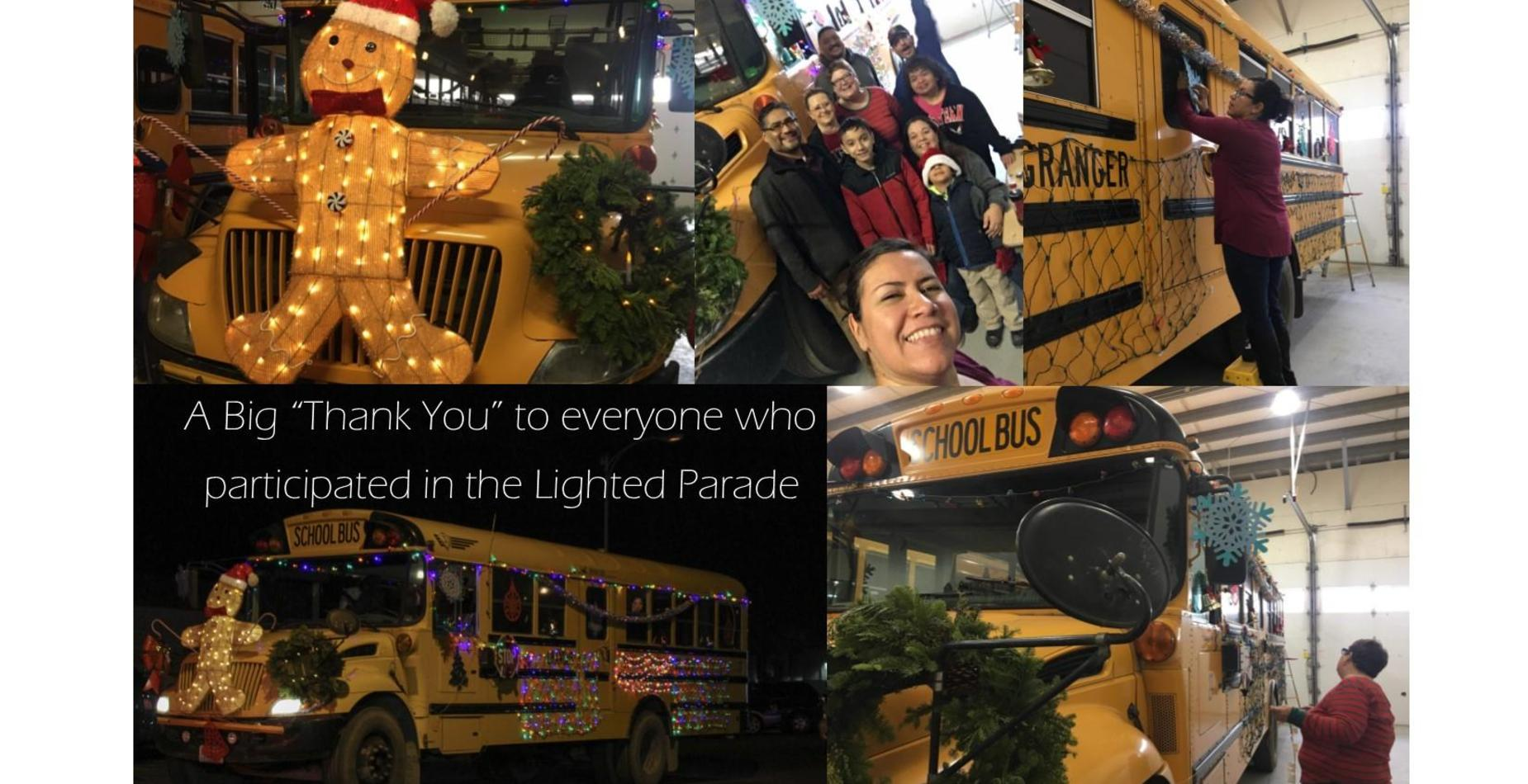 Pictures of the Lighted Parade 2018
