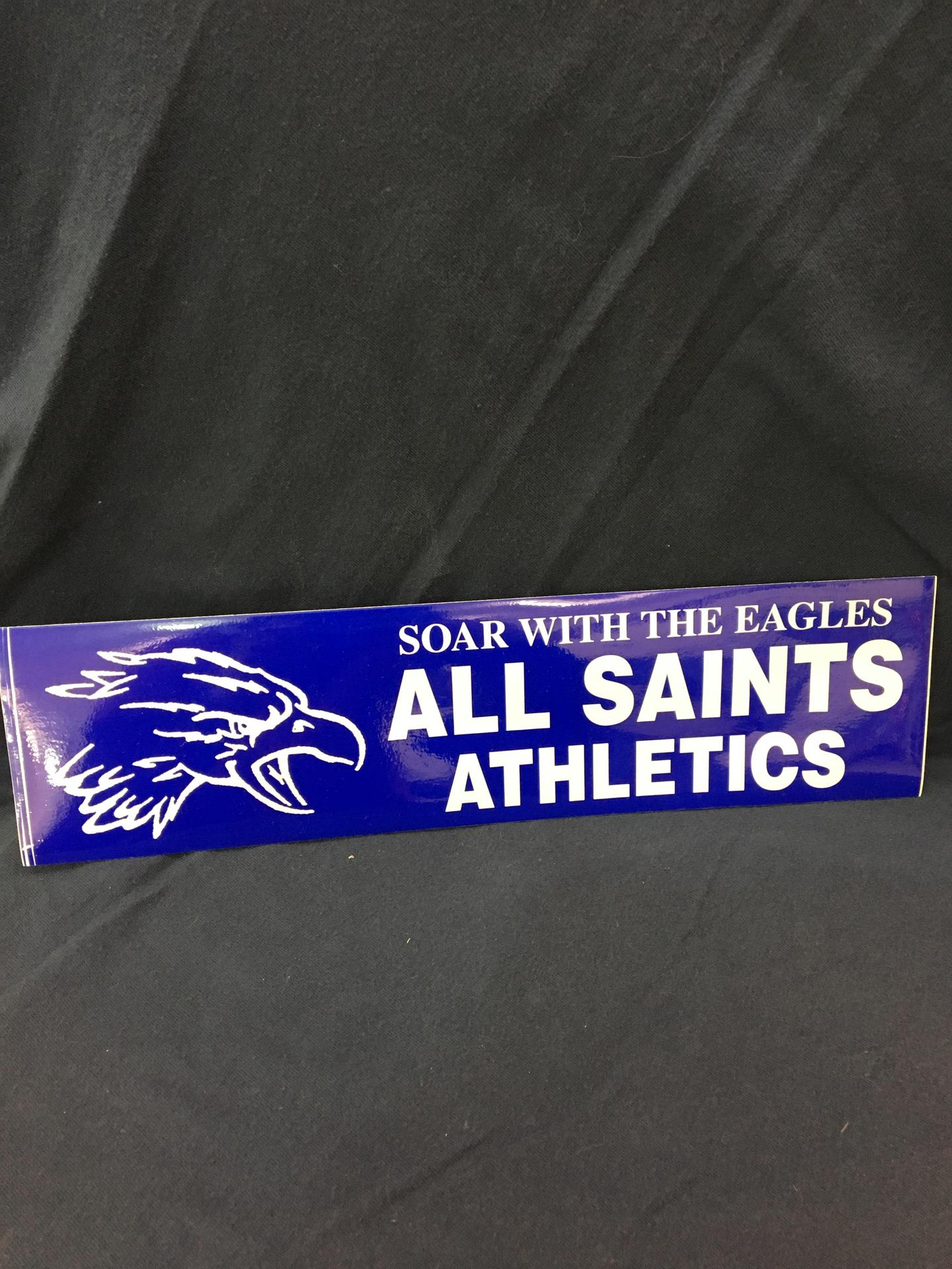 AS Athletic Decal