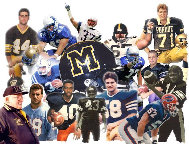 football legends of Marian Catholic