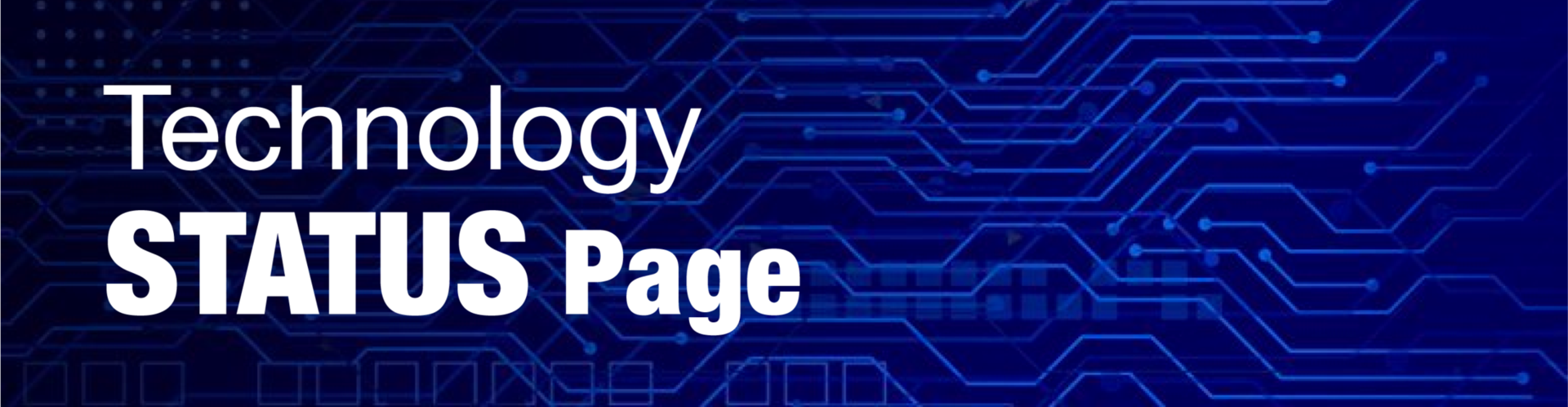 Tech Status Page
