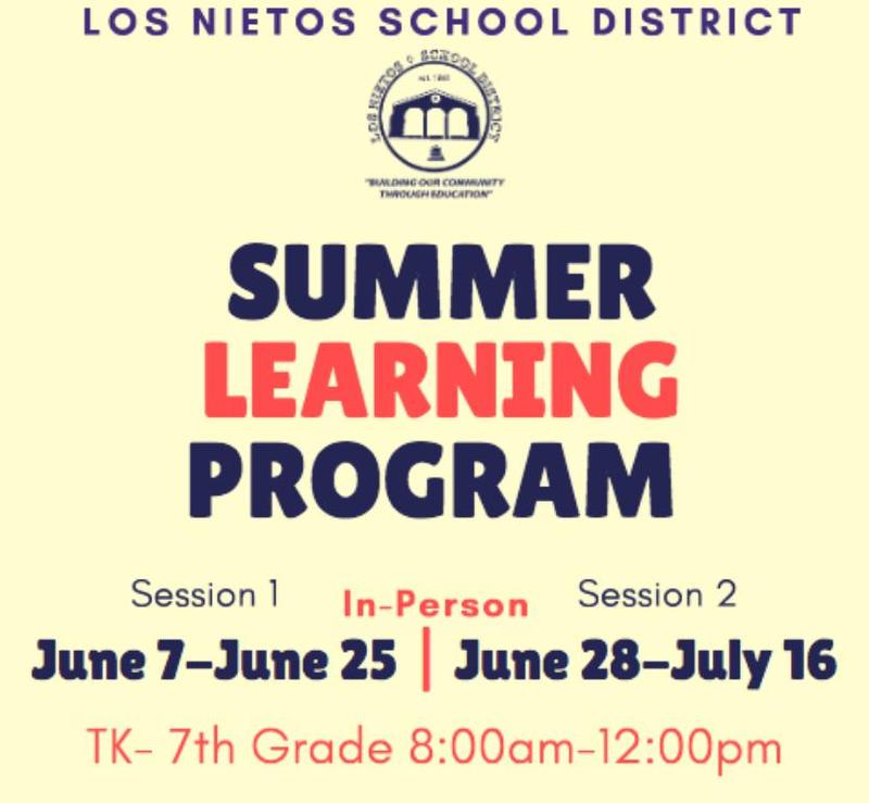 Summer Learning Program Flyer