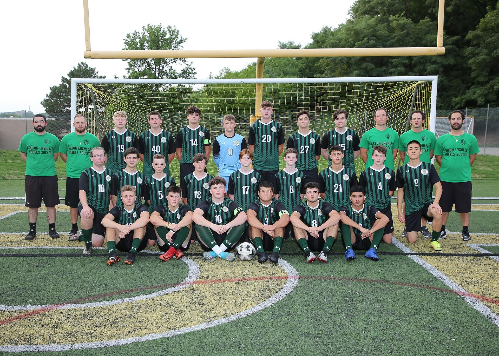 2020-21 Boys Soccer team