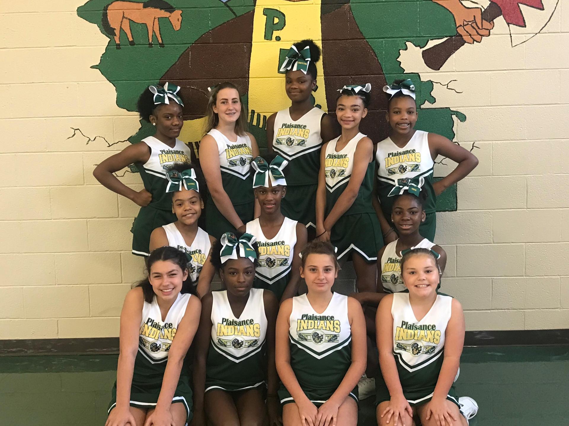 2019-2020 cheerleaders