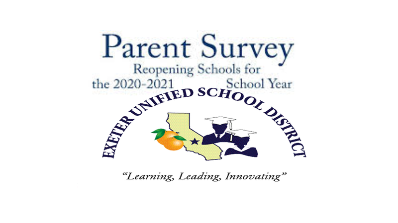 Parent survey for reopening 2020