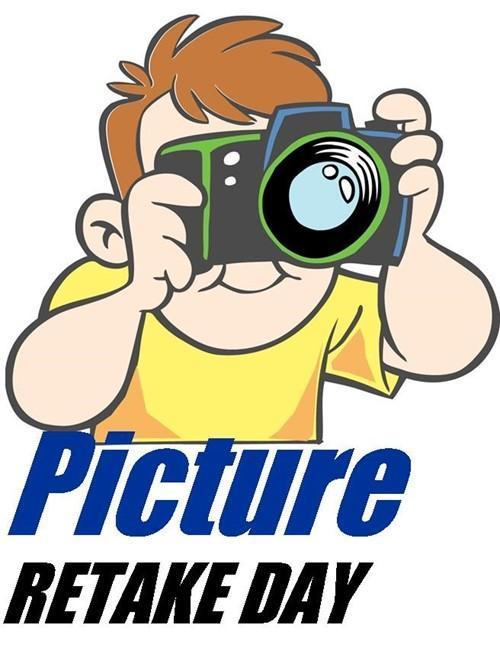 Cartoon student with camera