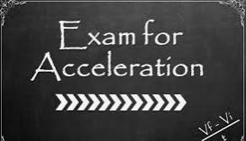acceleration exam