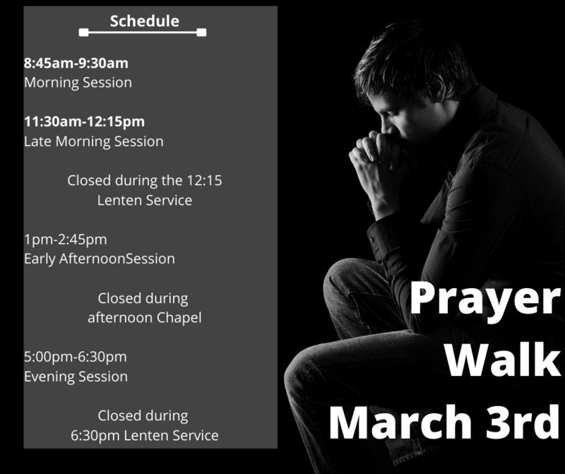 Prayer Walk--March 3rd Featured Photo