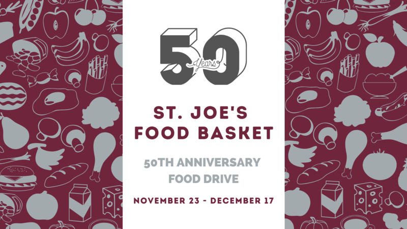 Food Basket 50th Anniversary Food Drive Featured Photo