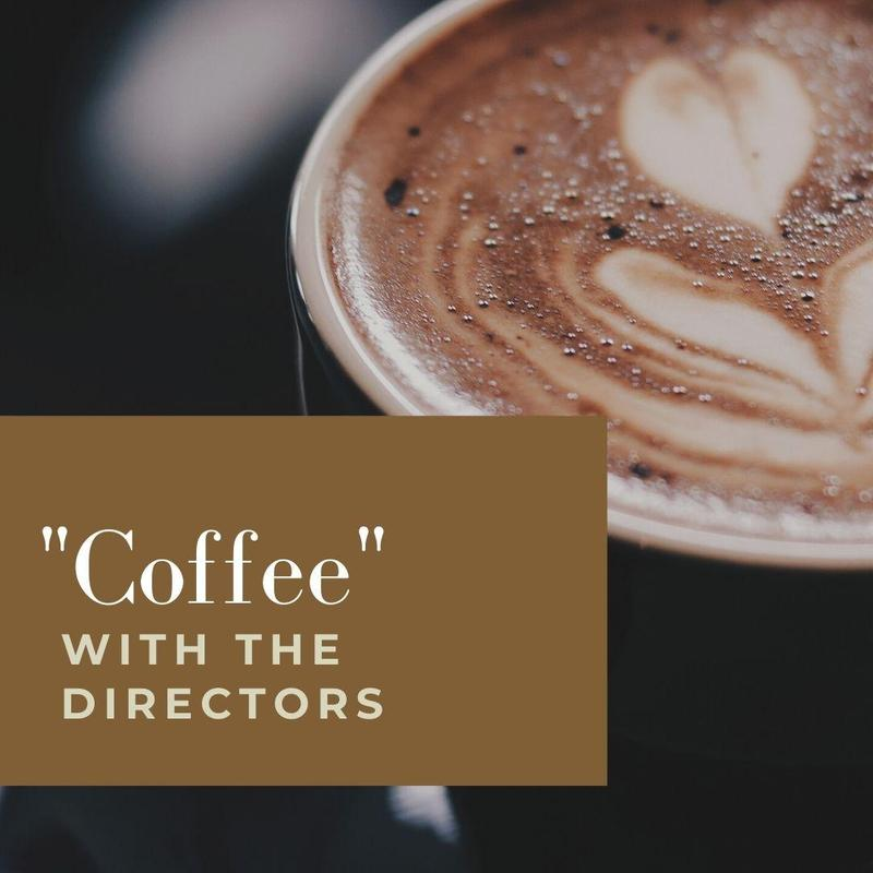 """Did you miss """"Coffee"""" with the Directors on 9/17? Featured Photo"""