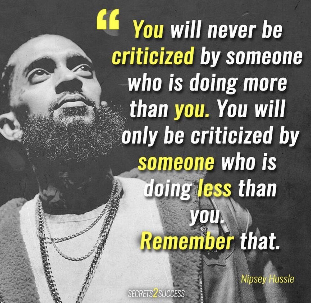 Nip Criticize
