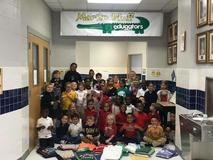 Edugators give to those in need