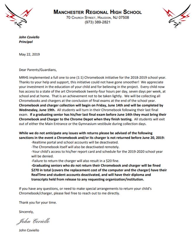1-1 parent letter