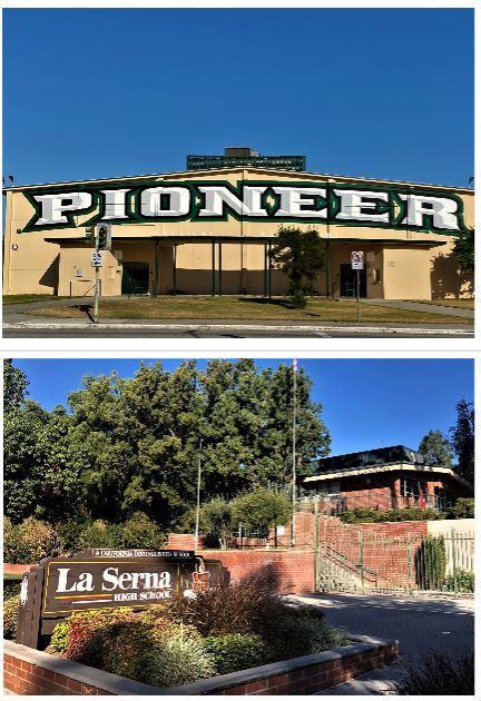 Pioneer High and La Serna High