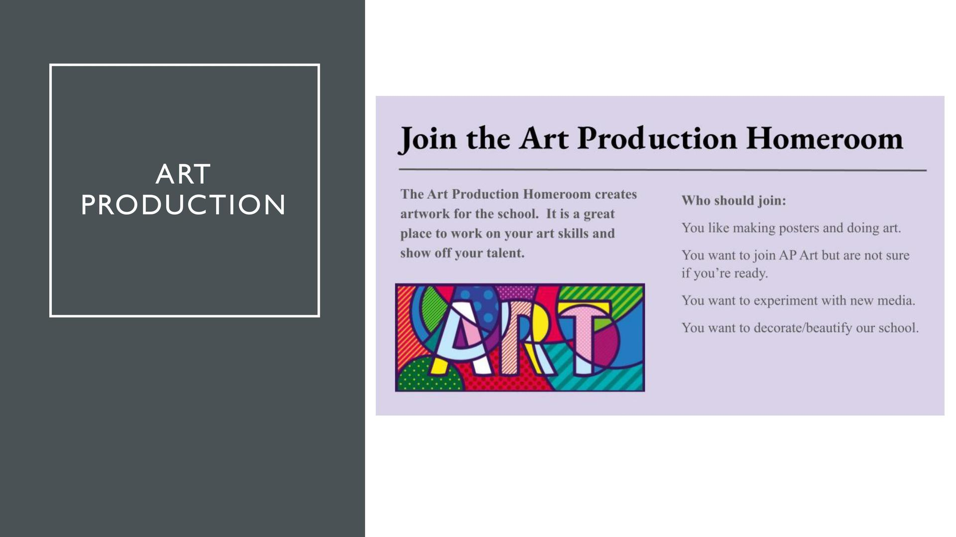 Art Production Advisory