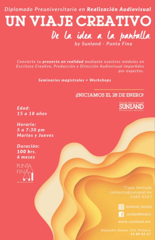 Diplomado Sunland - Realización Audiovisual