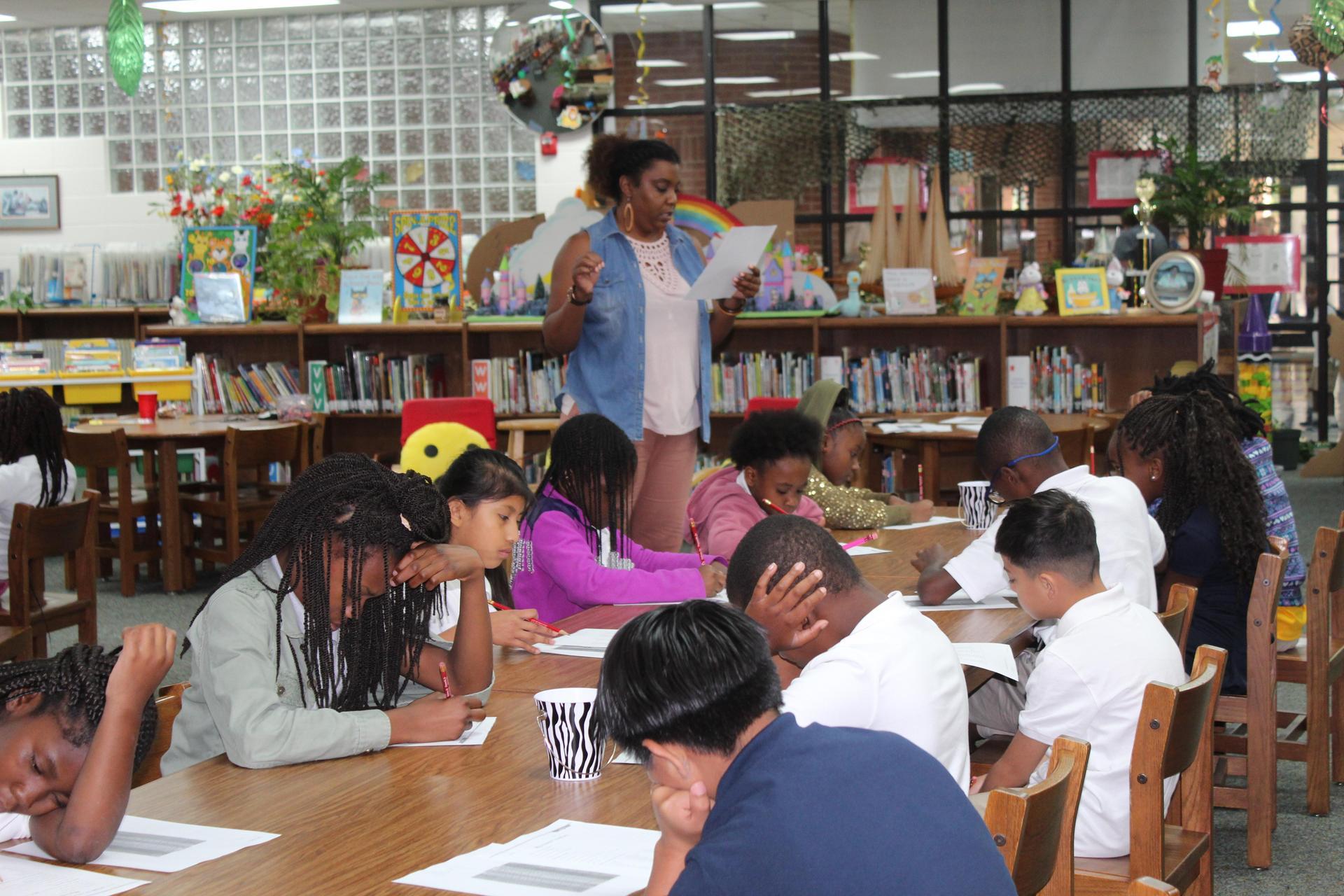 Library Orientation, Ms Jenkins