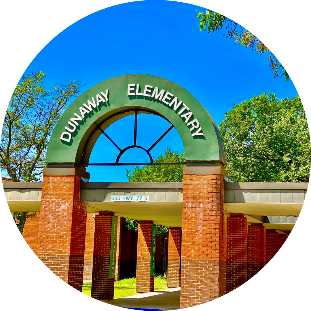 entrance to Dunaway Elementary