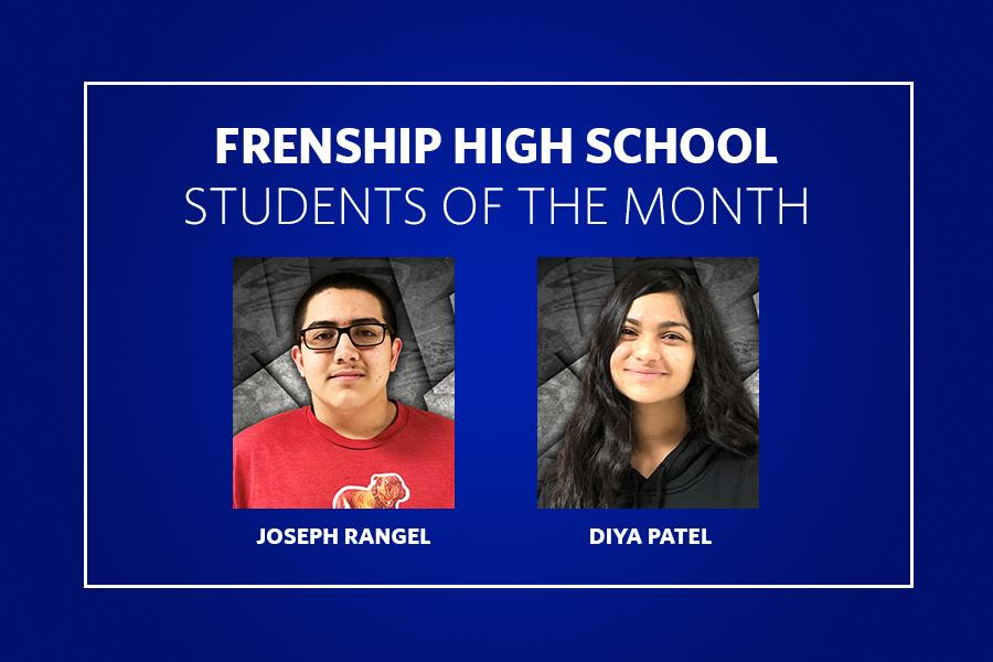 FHS 11th Grade Students of the Month