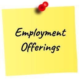 Employment Offerings
