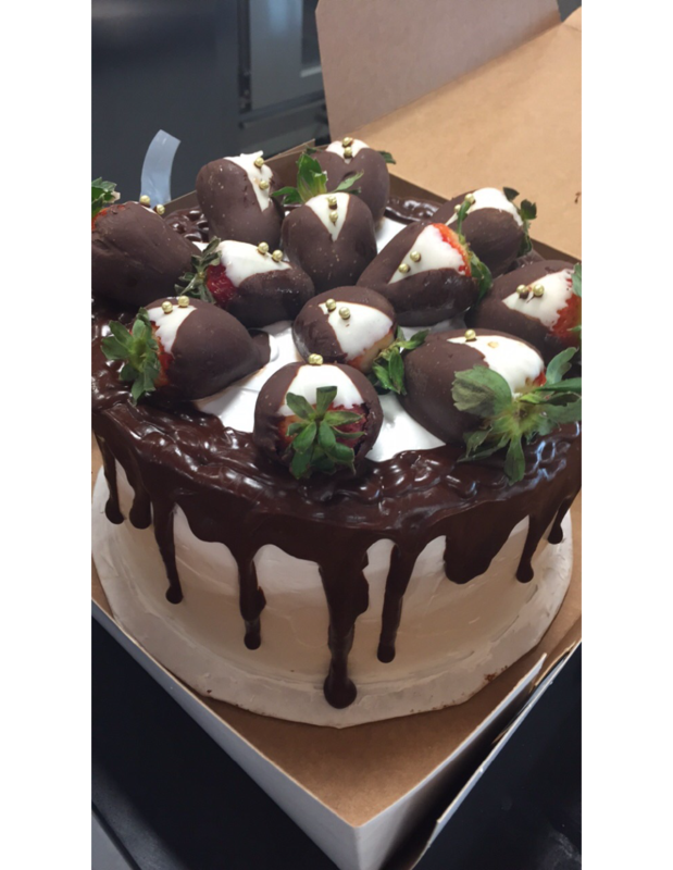 MSHS Culinary Arts Student-created cake