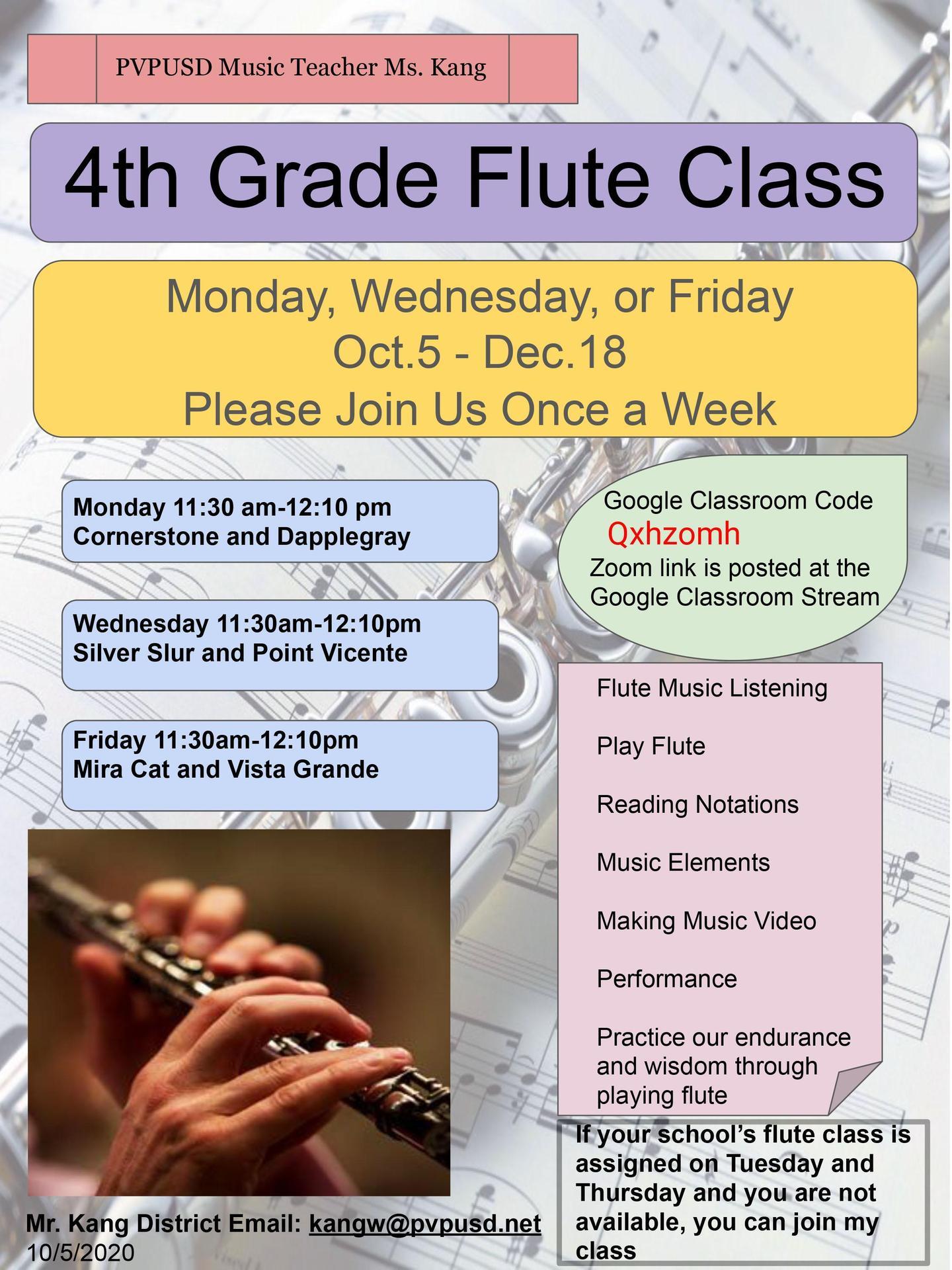 flute flyer