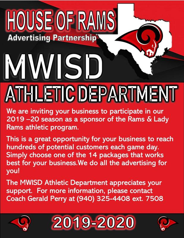 MWISD Athletic Partnerships