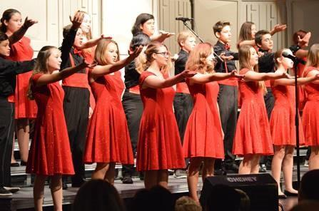 The Westwood choirs just had a great fall concert! Thumbnail Image