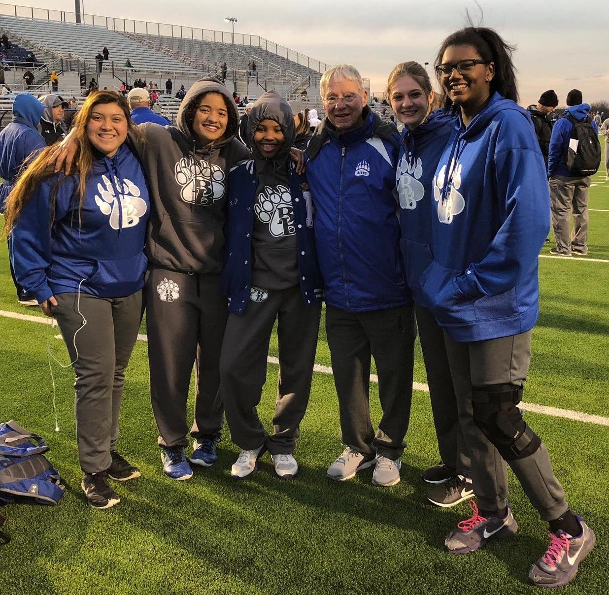 Brewer High School recently sponsored the annual Ben Davis Relays, named for former Athletic Director and Coach Ben Davis.