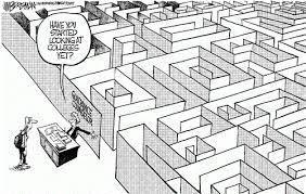 College Search Maze