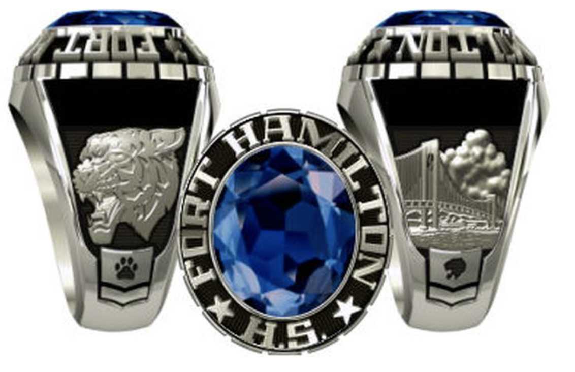 Fort Hamilton High School Class Ring