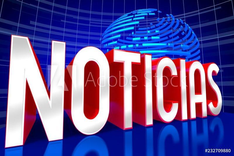 Image that reads Notice in Spanish-Noticias
