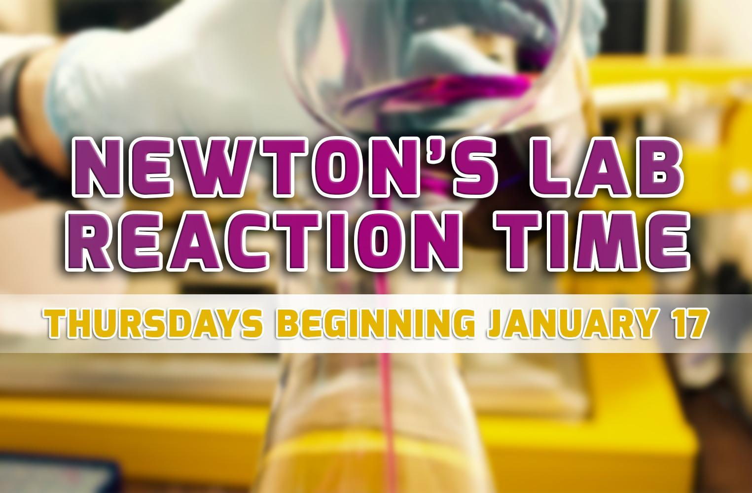 Newton's Lab Reaction Time