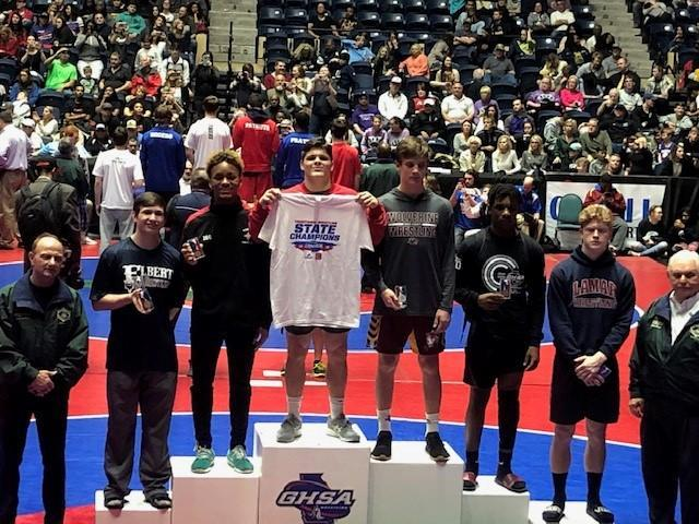 Houston 3rd Place at State 2019