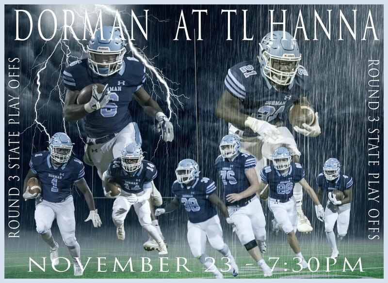 Dorman football poster