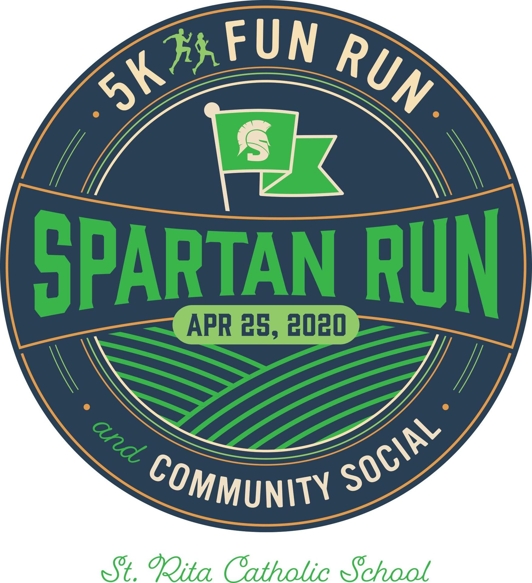 Spartan Run logo