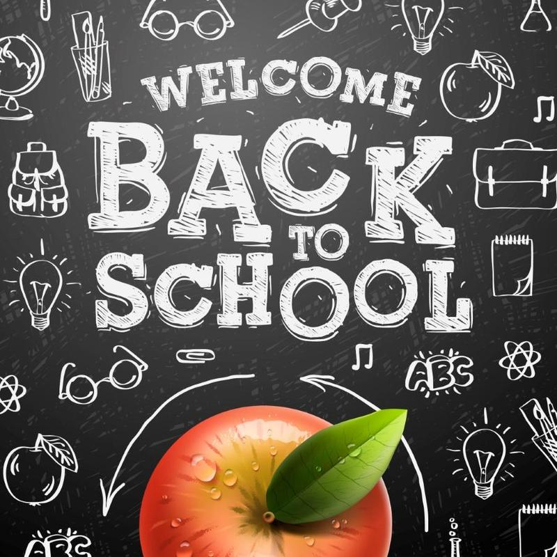 Back to school clipart image