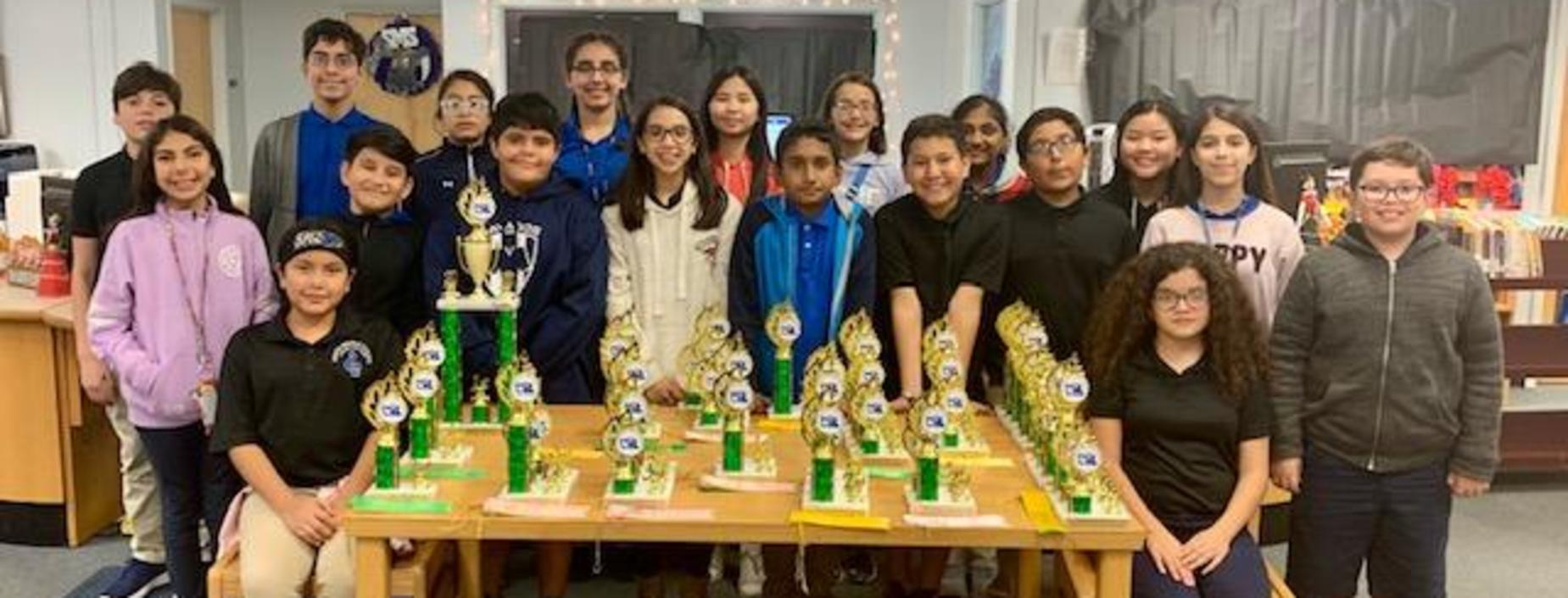 6th Gr. wins 1st at UIL Competition