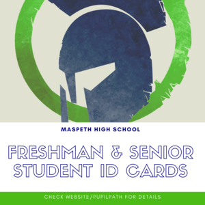 Freshman and Senior Student ID Cards
