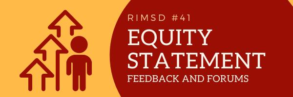 Equity Statement Feedback