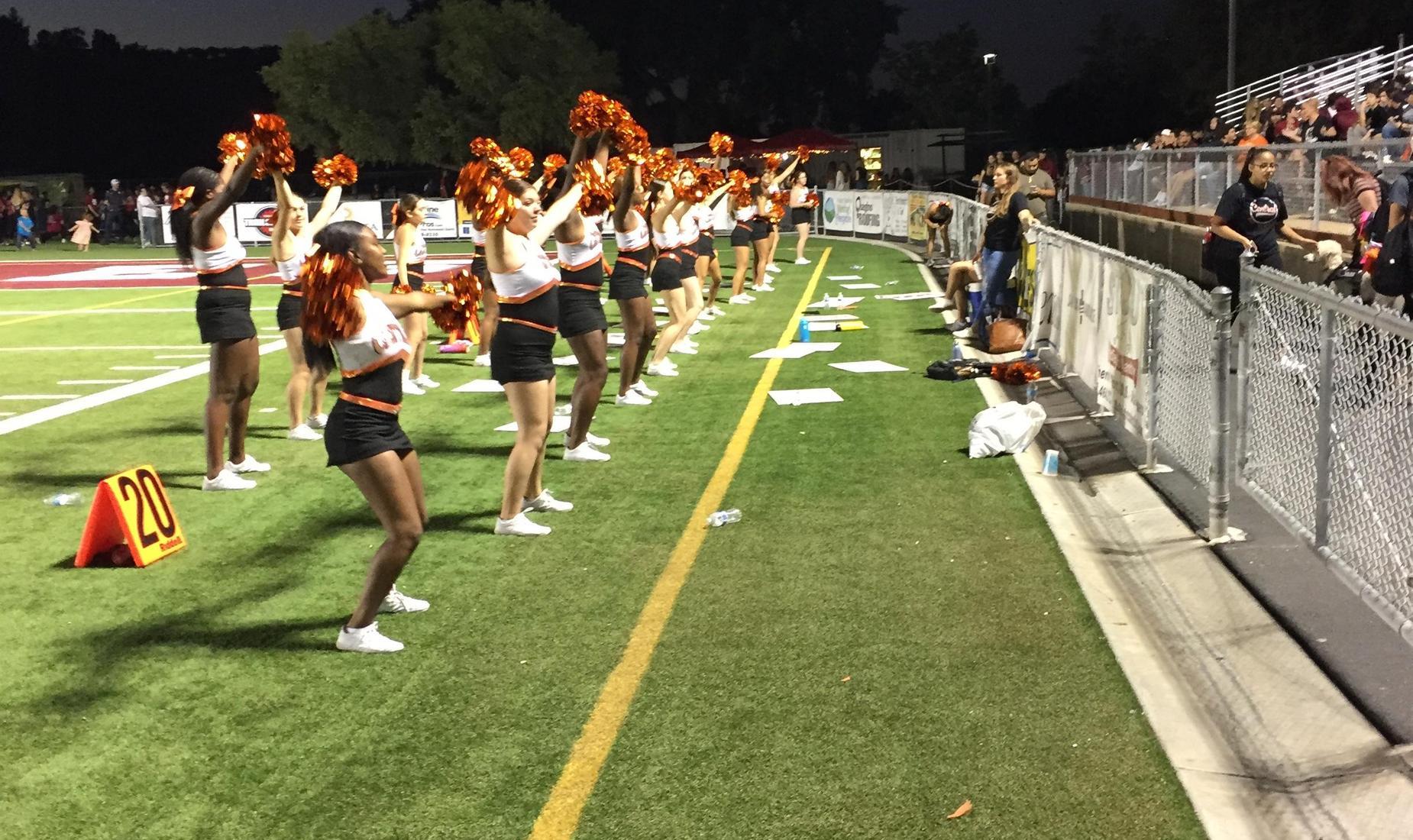 Central High School Cheerleading Team