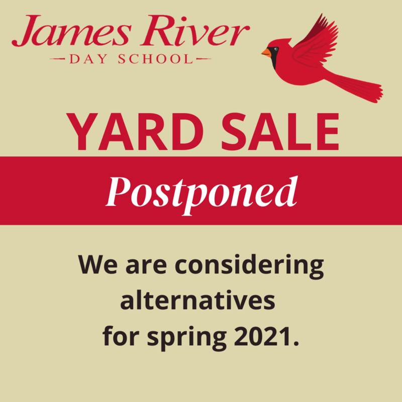 Annual Yard Sale Postponed